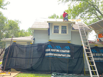 Roofing without the Mess